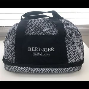 Insulated Casserole Food Carrier Zip Bag